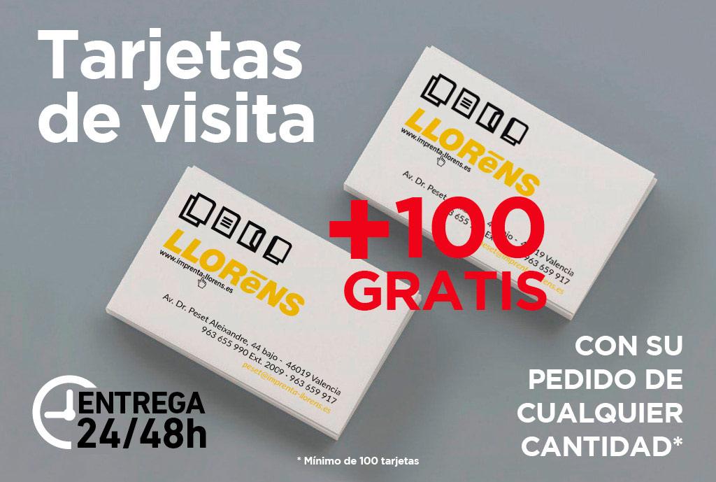 Tarjetas +100 Gratis